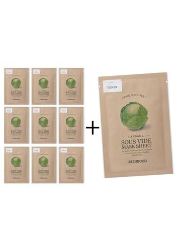 Skinfood Cabbage Sous Vide 10 lu Avantaj Paketi Renksiz